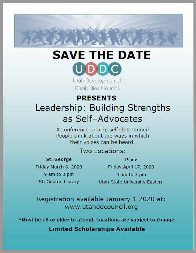 Self Advocacy Conference Flyer